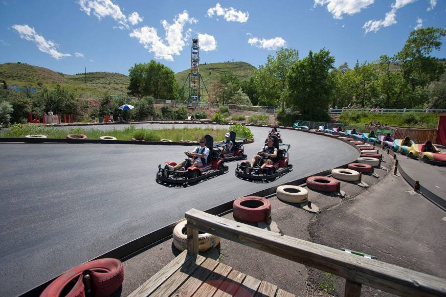 Who wouldn't want their own go-kart track? | Courtesy of Heritage Square Amusement Park (Facebook)