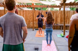 cannabis-friendly yoga classes in denver
