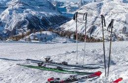 skiing as a senior