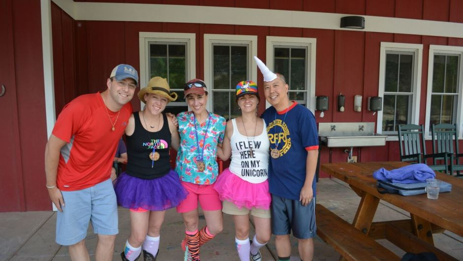 University of Colorado Cancer Center members go to camp