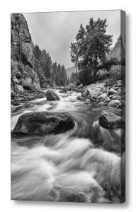Colorado-Black-White-Canyon-Portrait-Canvas-Art-Print