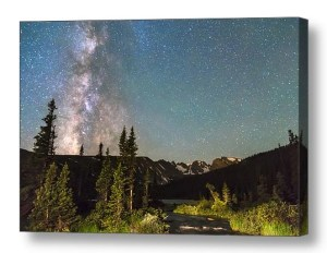 Milky-Way-Magic-Longs-Lake-The-Indian-Peaks-Canva-Art-Print