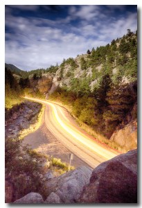 Boulder Canyon Beams Of Light Canvas Wall Art