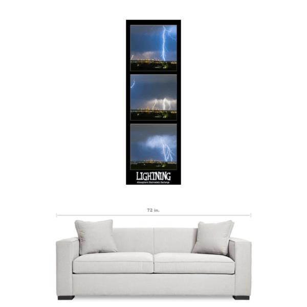thunderstorm Lightning panorama art