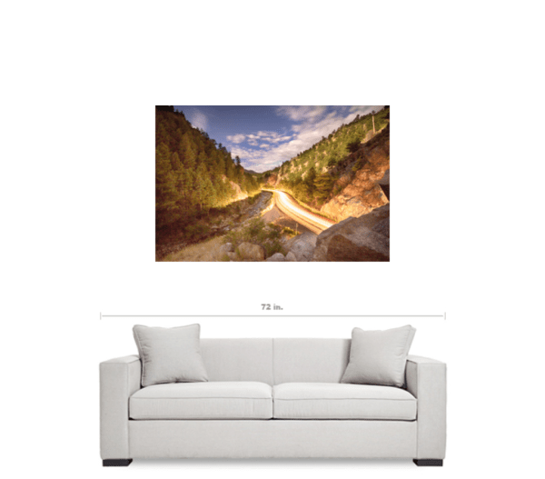Boulder Canyon Colorado Art Prints