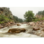 Fisherman's Panorama Colorado Canyon View Canvas Art