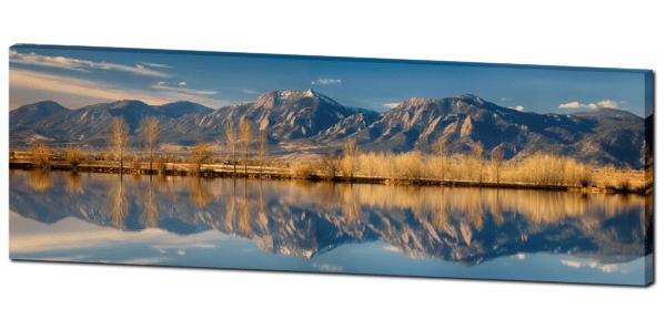 Boulder colorado panorama art