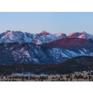 Rocky Mountain National Park Panorama View