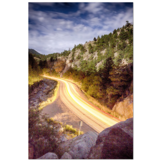 boulder canyon colorado fine art