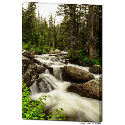 "Nature's Waterworks 24""x36""x1.25"" Premium Canvas Gallery Art Wrap"