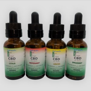 CBD Oil Natural 600mg Variety Flavors