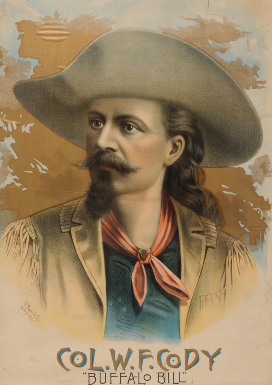 buffalo bill s wild west show poster