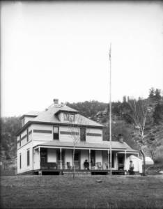 View of Zerbe's Ranch Hotel