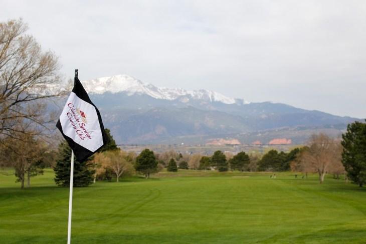 C.C. Flag and peak