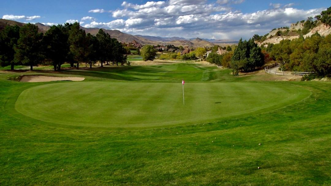 Hole #8 - Arrowhead Golf Club