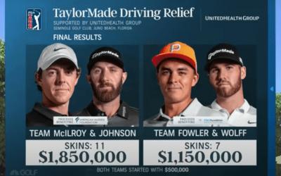Nitpicking the return of live golf