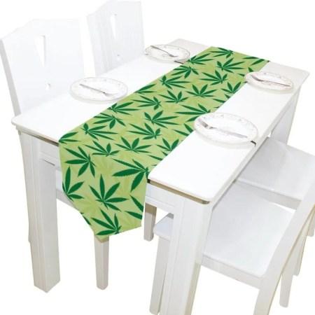 marijuana themed home decor