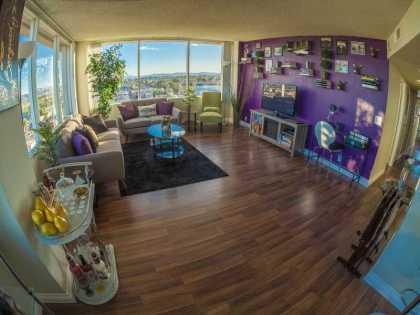 420 friendly condo 9th floor
