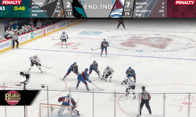 Avs - Sharks second period 1/26
