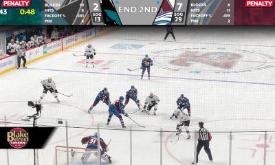Avs - Sharks second period 1/26