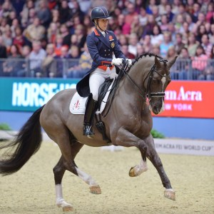 Charlotte Dujardin and Valegro Riding Dressage