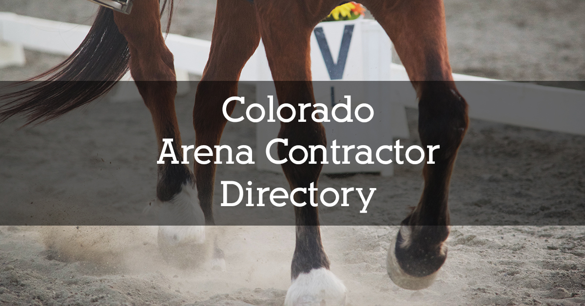 Colorado Arena Contractor Directory