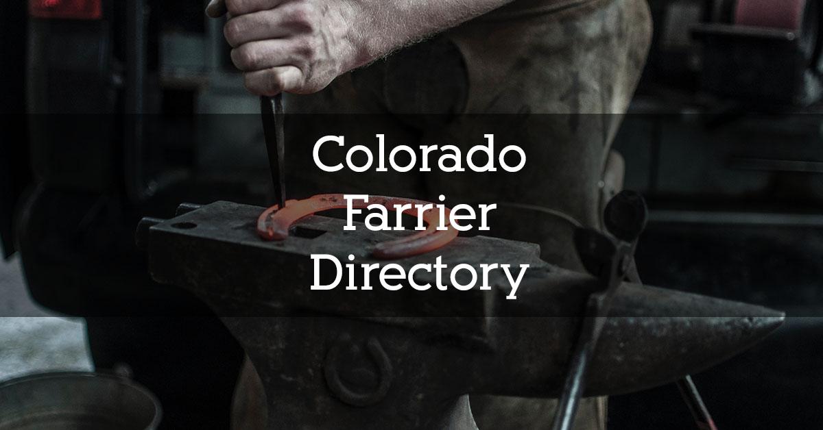 Colorado Farrier Directory