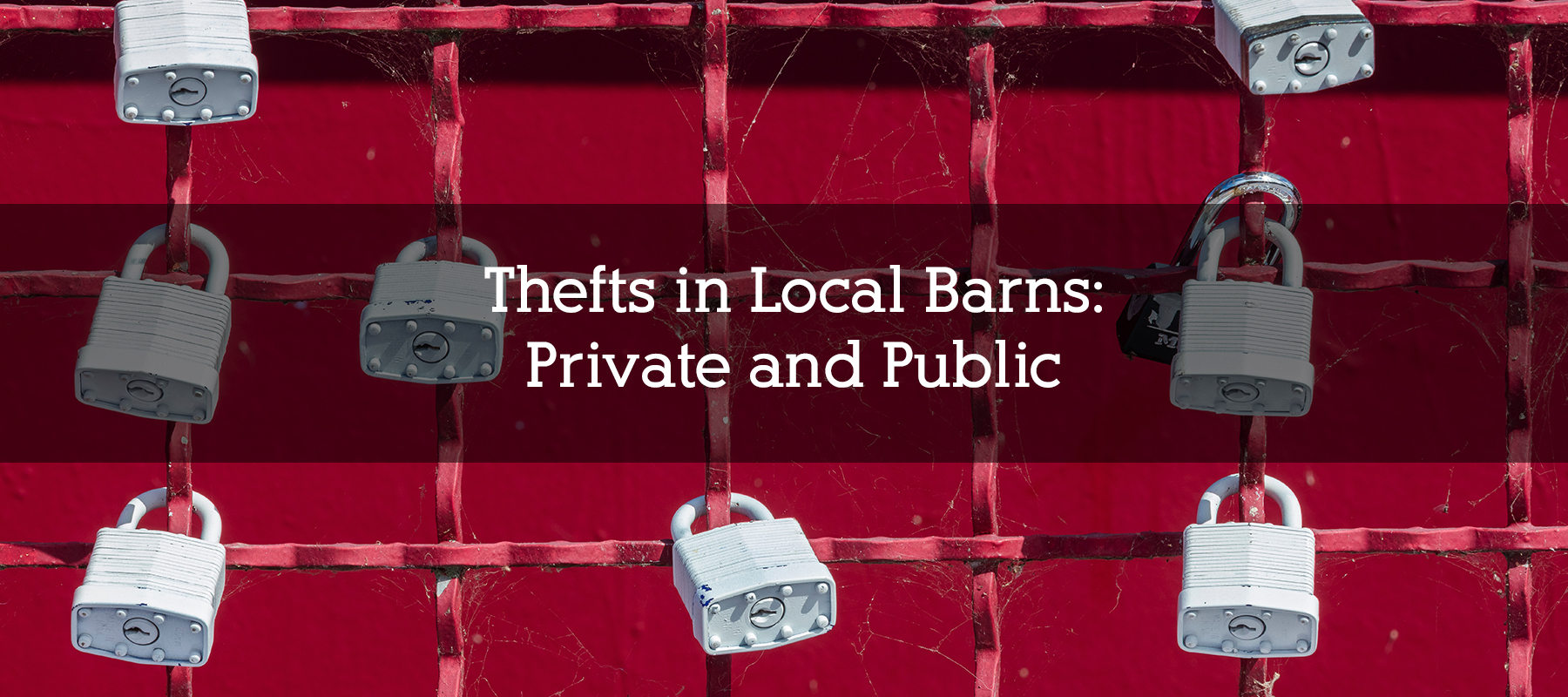 Thefts in Local Barns