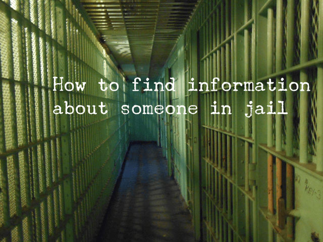 How to Find Information About Someone in Jail