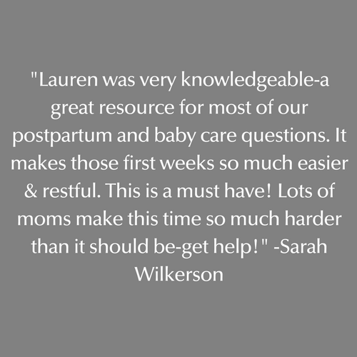 A great postpartum and baby care resource