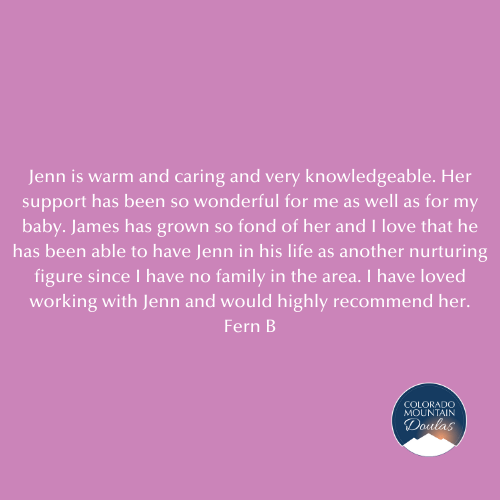 Jenn is warm and caring and very knowledgeable.