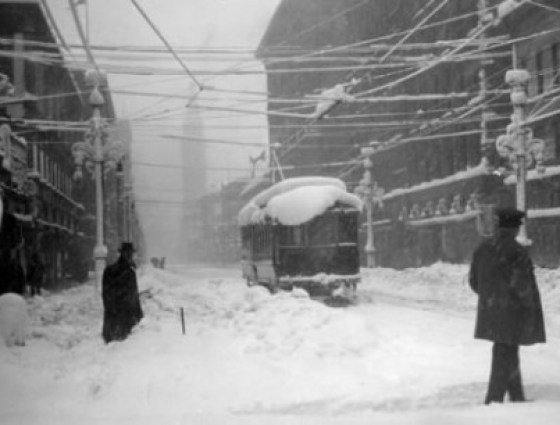 1913 blizzard 45 inches of snow