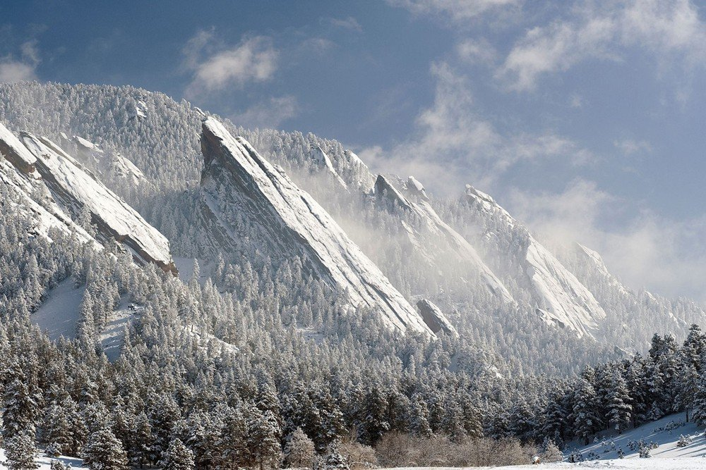 "28"" x 20"" Boulder, Colorado Flat Irons - Art Print. $15.99 FREE Shipping. Click Here."
