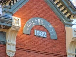 Boulder City 1882 - Building