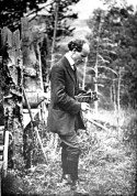 Enos Mills with Camera