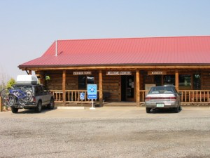 Pioneer Town Museum welcome center