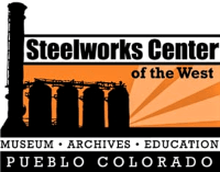 Steelworks Center of the West Museum logo
