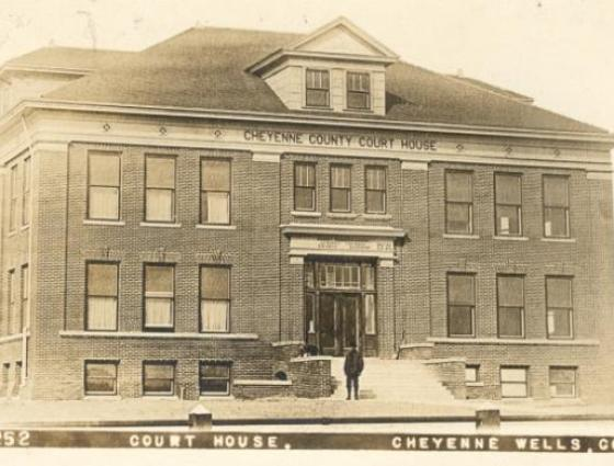 Cheyenne Wells - Court House