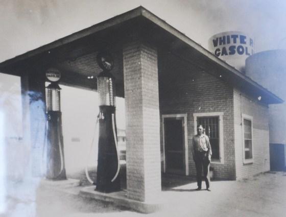 Holyoke - Canopy Gas Station, White Gasoline