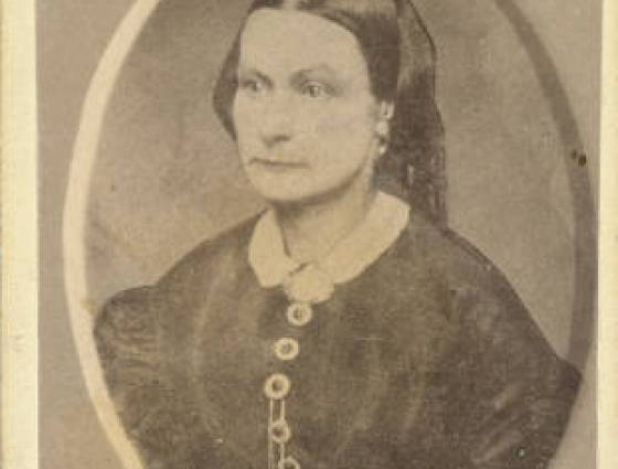 Mrs. H.K. Pearson first woman in Georgetown, 1860-1870.