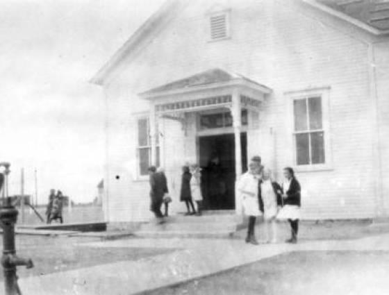 Grover - Grover School - spring of 1917