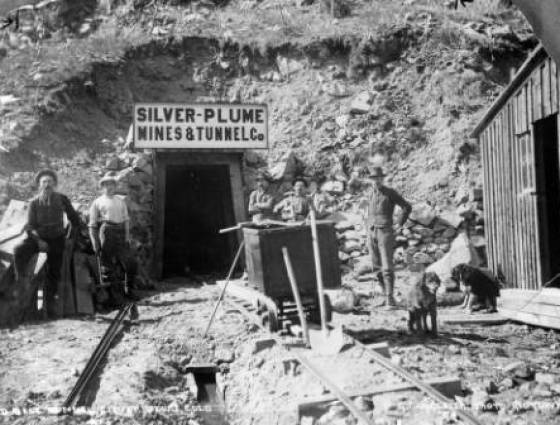 X-61691 Gold Belt Tunnel between 1940 and 1960.