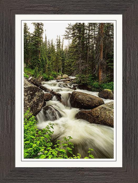 Colorado Nature Waterworks Framed Print