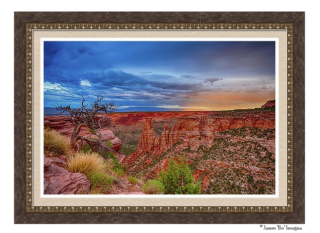 colorado_national_monument_evening_storms_framed_print