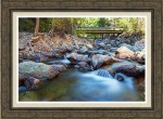 Next Crossing Framed Print
