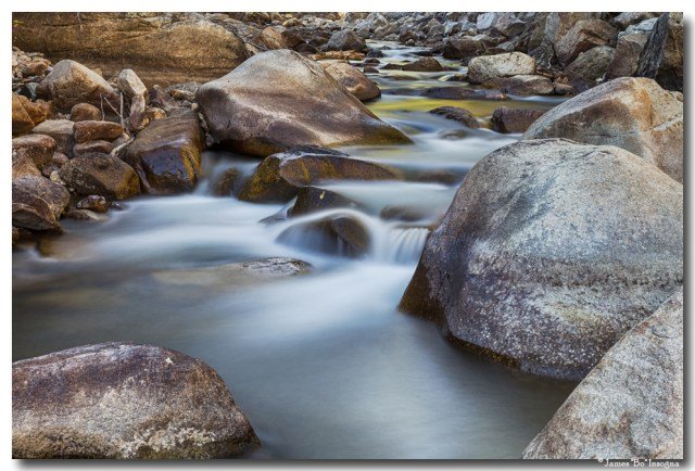 St Vrain Streaming Colorado Narure Art