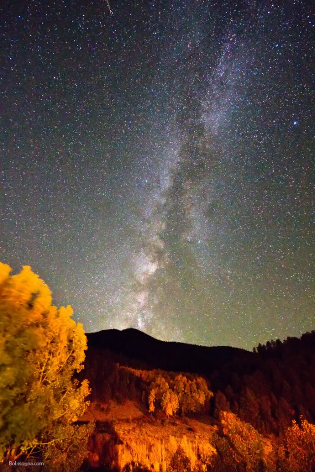 Autumn Milky Way Night Sky Photography Prints
