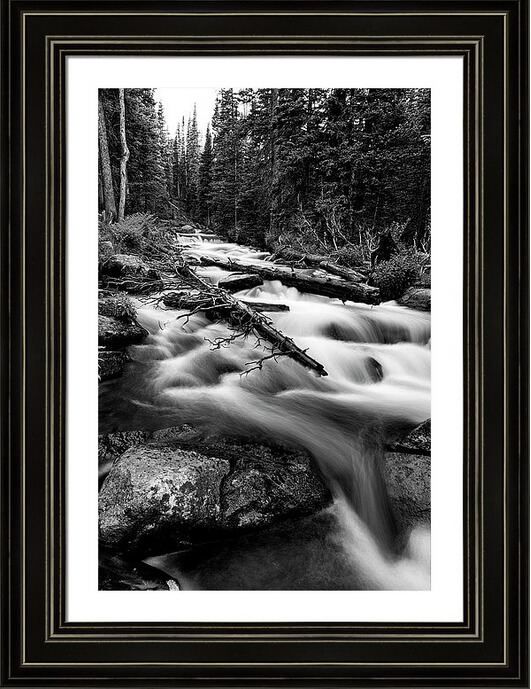 Mountain Force Framed Print