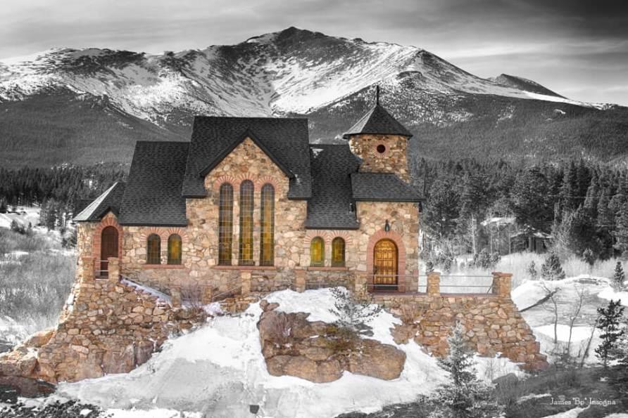 Colorado Chapel on the Rock BWSC Art