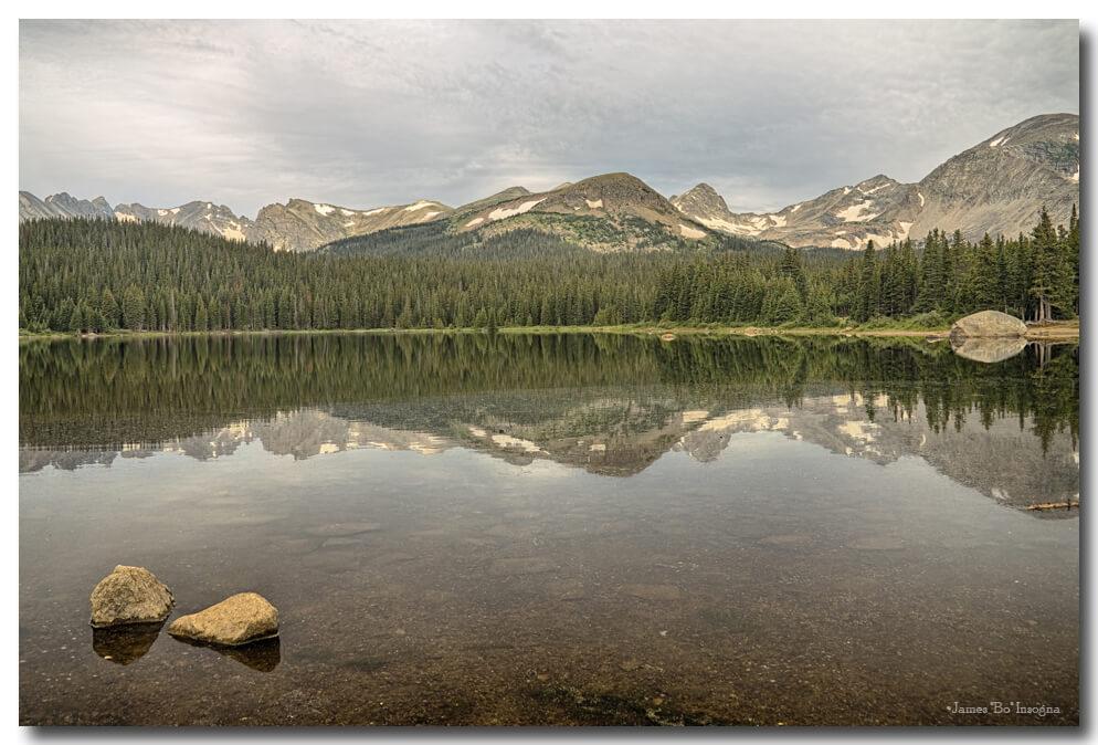 Colorado Brainard Lake Reflection